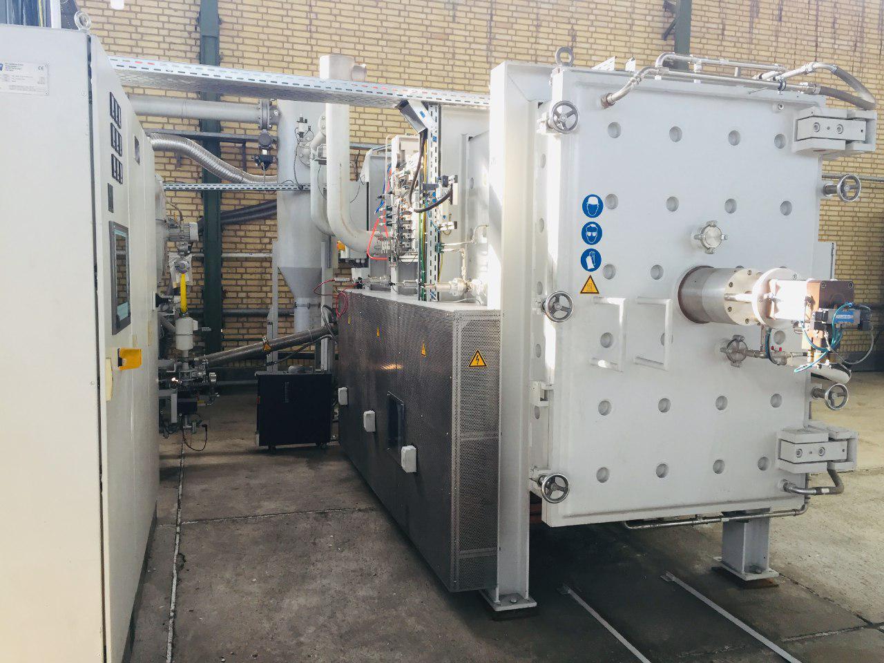 کوره خلا با قابلیت پخت سرامیک های صنعتی پیشرفته SIC تا دمای 2000 درجه سانتیگراد